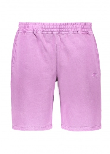 Stussy Stock Fleece Short - Purple