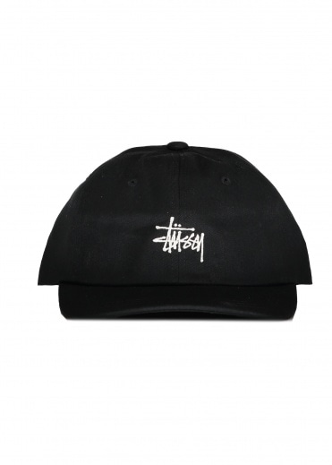 Stussy Stock Low Pro Cap - Black