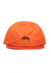 Stussy Stock Nylon Strapback Cap - Orange