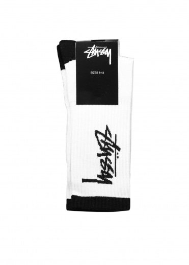 Stussy Stock Premium Socks - White