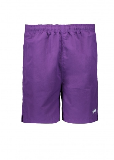 Stussy Stock Water Short - Purple