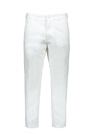 Obey Straggler Carpenter Pant III - White