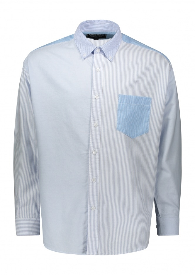 Frizmworks Stripe Crazy Block Shirt - Blue