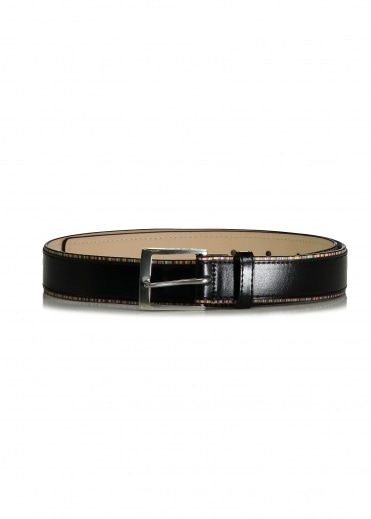 Paul Smith Stripe Edge Be;t - Black