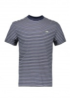 Stripe Tee - Navy Blue / Flour