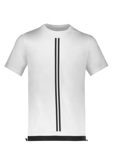 BLACKBARRETT by Neil Barrett Stripe Tee - White / Black