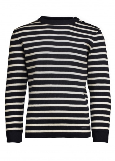 Armor Lux Striped Jumper - Navy / Nature