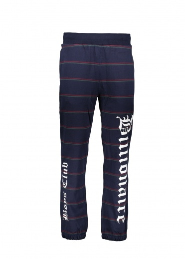 Billionaire Boys Club Striped Sweatpants - Navy