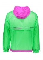 Honeycomb Hooded Jacket - Green