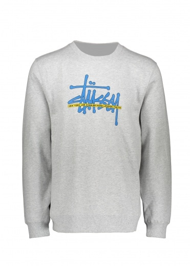 Stussy Int. Crew - Ash Heather
