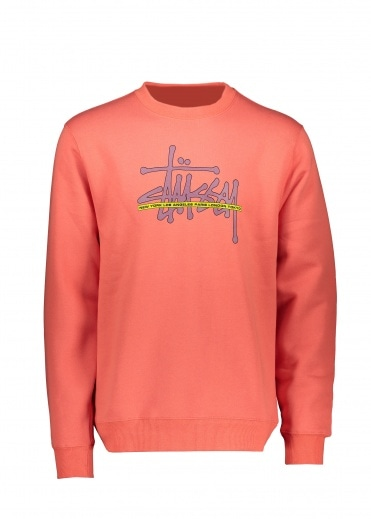 Stussy Int. Crew - Orange