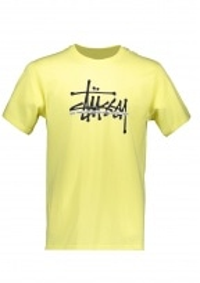 Stussy Int. Tee - Lemon