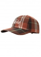 Madras Plaid Lo Pro Cap - Orange