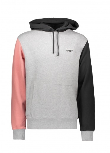 Stussy Sport Hoodie - Grey Heather