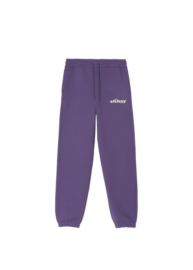 Womens Big U Sweatpant - Purple
