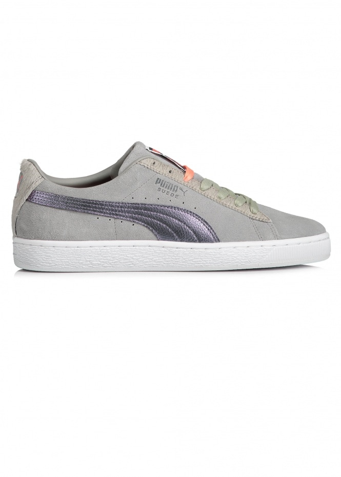 Suede Classic x Staple Pigeon - Frost Grey