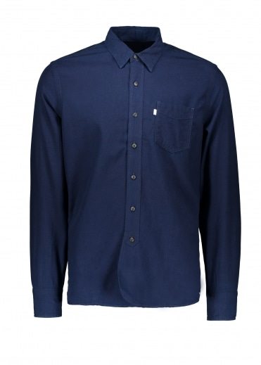 Levi's Red Tab Sunset 1 Pocket Shirt - Real Indigo