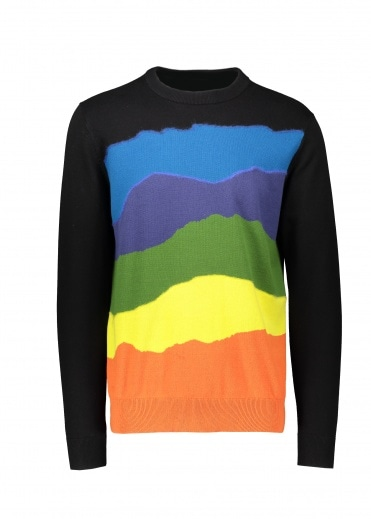 Paul Smith Sunset Stripe Pullover - Multi