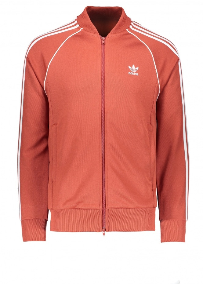 Adidas Originals Apparel Superstar Track Top - Shift Orange