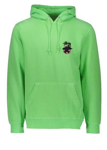 Stussy Surfman Dot Hood - Green