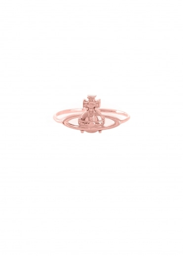 Vivienne Westwood Accessories Suzie Ring - Pink Gold