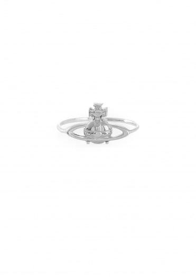 Vivienne Westwood Accessories Suzie Ring - Rhodium