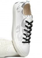 McQ by Alexander McQueen Swallow Plimsole - Optic White