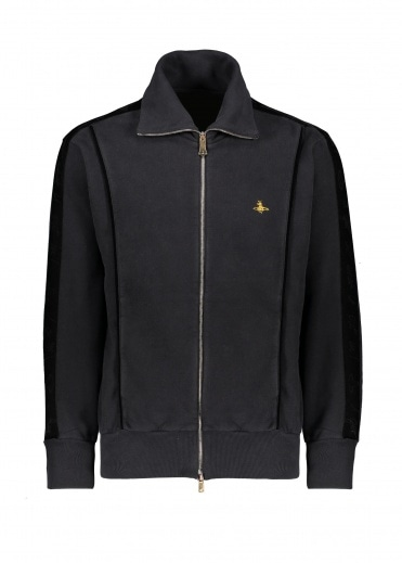 Vivienne Westwood Mens Sweat Jacket - Black