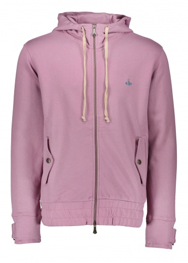 Vivienne Westwood Mens Sweat Jacket - Pink