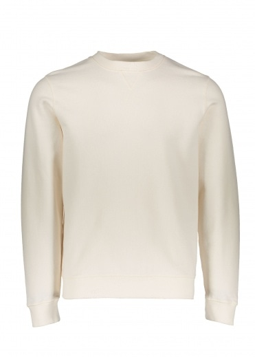 Sunspel Sweat Top - Archive White