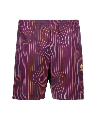 Adidas Originals Apparel Swimshort - Red Night
