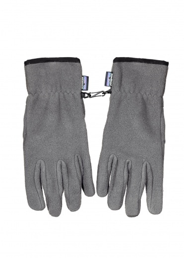 Patagonia Synch Gloves - Nickel