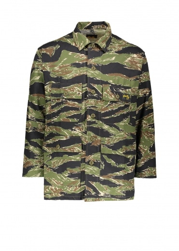 Stan Ray Synder Field Jacket - Green Tiger Camo