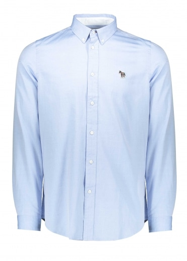 Paul Smith Tailored Fit LS Shirt - Light Blue