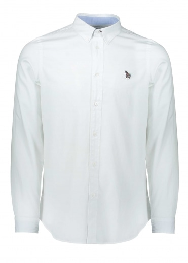 Paul Smith Tailored Fit LS Shirt White