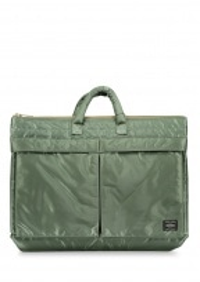 Porter-Yoshida & Co Tanker Briefcase Bag - Green