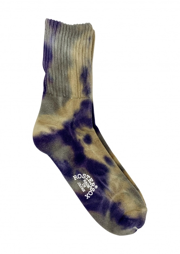 Rostersox TD3 Tie Dye Socks - Purple