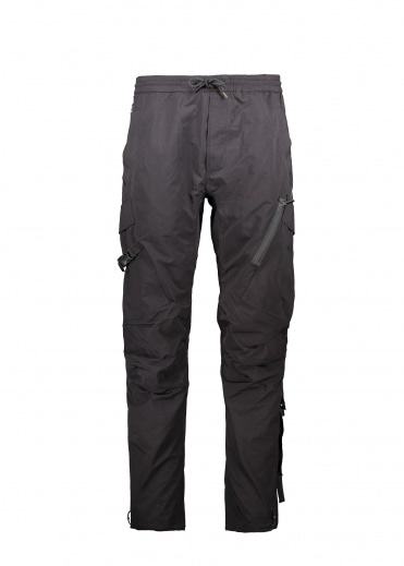 Maharishi Tech Cargo Trackpants - Black