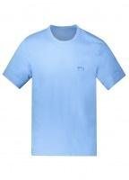 Tee Shirt Curved - Bright Blue