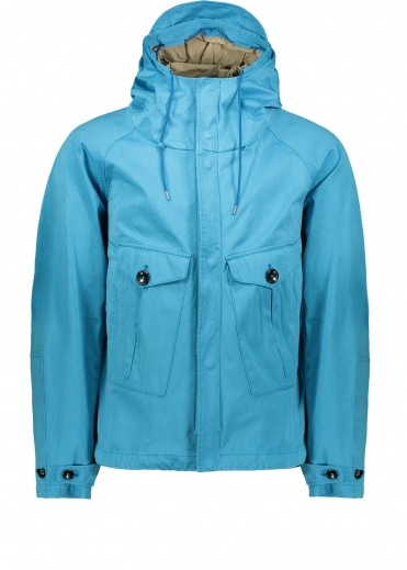 Ten C Tempest Anorak Jacket - Bright Blue
