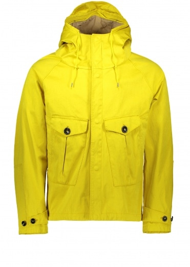 Ten C Tempest Anorak Jacket - Yellow