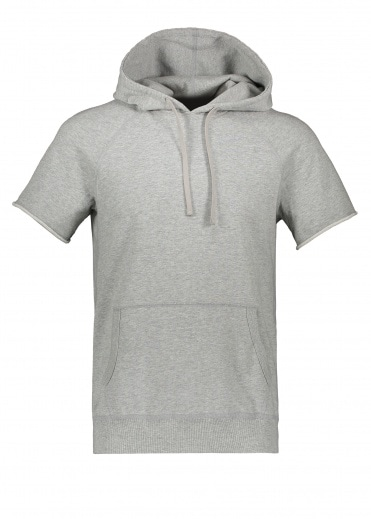 Reigning Champ Terry Cut Off Hoodie - Grey