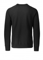 Terry Gym Logo Crew Neck - Black