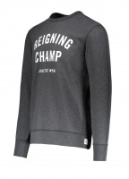 Terry Gym Logo Crew Neck - Charcoal