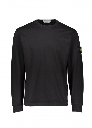 Stone Island Thin Sweat - Black