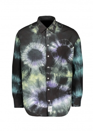 Aries Tie Dye Headlights Shirt - Multi