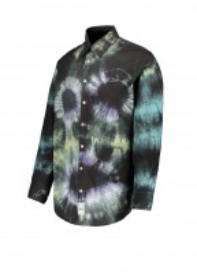 Aries Tie Dye Headlights Shirt - Multi