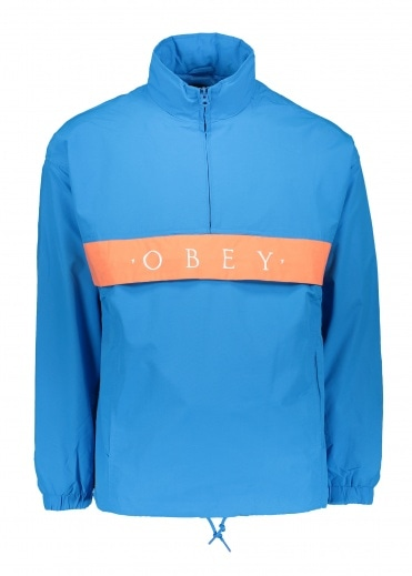 Obey Title Anorak - Sky Blue