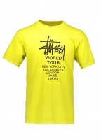 Tour Pig. Dyed Tee - Lime