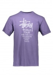 Tour Pig. Dyed Tee - Purple